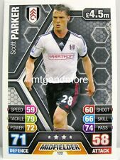 Match Attax 2013/14 Premier League - #122 Scott Parker - Fulham