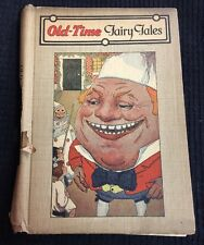 Old Time Fairy Tales Western Printing & Lithographing Co. USA Antique Book
