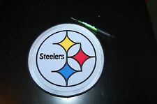 "Pittsburgh Steelers Large 8"" Logo Patch Crest Football"