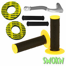 RFX Handle Bar Grips, Donuts & Silicone Lever Sleeves Suzuki RM 80 85 125 250 BY