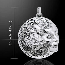 Oberon Zell Gaia Mother Earth .925 Sterling Silver Pendant Peter Stone