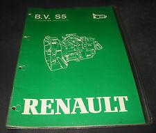 Werkstatthandbuch Renault  Automatik Getriebe Typ S5 - 18/3 Stand April 1983