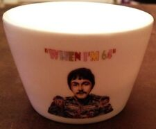 THE FAB FOUR When I'm 64 CHINA TEALIGHT CANDLE HOLDER 64th Birthday Gift UNUSUAL