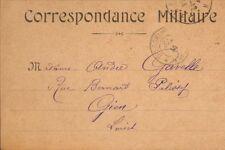 GUERRE WAR KRIEG 14/18 CARTE FRANCHISE MILITAIRE CACHET POSTAL 1914