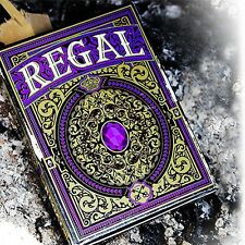 Regal Purple Playing Cards  Poker Spielkarten Expert Playing Card Company