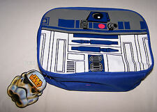 Star Wars R2 D2 Blue R2D2 Printed Insulated Lunch Box Cooler Bag New