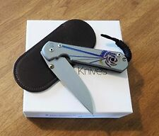 CHRIS REEVE New Large Sebenza 21 Unique With Plain Edge S35VN Blade Knife/Knives