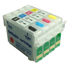 NON-OEM Refillable Ink Cartridge kit for EPSON TX123 TX133 TX135 T1351BK T1332
