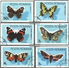 Romania 4159-4164 (complete issue) used 1985 Butterflies