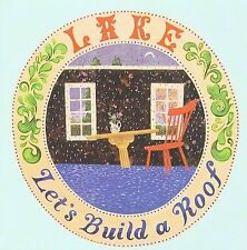 Lake - Let's Build a Roof CD 2009 MINT K Records CHEAP!