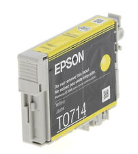 Genuine Epson T0714 Yellow Ink Cartridge for Stylus SX510w SX210 SX215 Outof Box