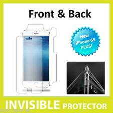 NEW Apple iPhone 6S Plus INVISIBLE Screen Protector Shield Full  FRONT AND BACK