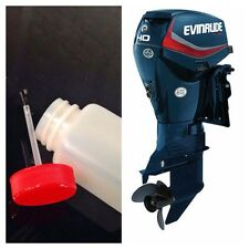 EVINRUDE ETEC OUTBOARD BOAT MOTOR 80ML  TOUCH UP  PAINT KIT - NAVY BLUE