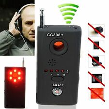 Anti-Spy RF Signal Bug Detector Hidden Camera Laser Lens GSM Device Finder bd#01
