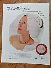 1947 Revlon Ad  New Fashion Plate Make-Up for Hands & Face