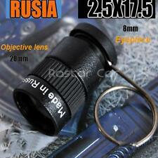 2.5x17.5 Mini Spy Telescope Thumb Monoculars Russian Agents KGB Equipment