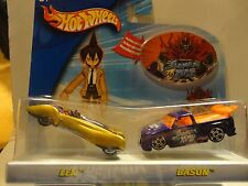 Hot Wheels World Shaman King Len vs Bason 2 Car Set
