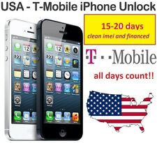 T-MOBILE IPHONE 6 6s 6+ 5 5s FACTORY UNLOCK SERVICE CODE (CLEAN & FINANCED ONLY)