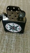 Vintage Zippo Lighter Compass Design Black XIII 1997 Made in USA