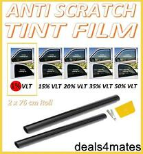 PRO QUALITY ULTRA LIMO BLACK 1% CAR WINDOW TINT ROLL 6M x 76CM FILM TINTING
