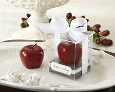 Apple Of My Eye Mini Red Apple Candles Baby Shower or Wedding Favors