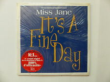 CD Single MISS JANE It's a fine day 3306640493712