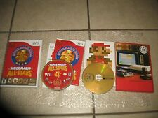 CIB Super Mario All-Stars Limited Edition Nintendo Wii 2010 W SOUNDTRACK,BOOK U