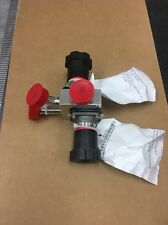 """ITT Industries Pure-Flo Multiple Intergrated Valve Assembly 1/2"""" 316L SS *NEW*"""