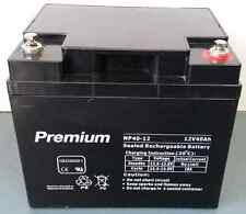 40AH 12V AGM deep cycle battery for scooter, wheel chair, golf buggy, camping