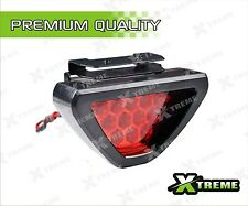 XTREME-in Triangle Red 12 LED Brake Light With Flash mode for All Cars and Bikes