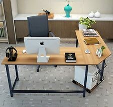 Computer Corner Desk Workstation Office Laptop PC Game Console Table Home Study