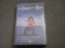 SEALED RARE OOP Even Cowgirls Get the Blues CASSETTE TAPE soundtrack K.D LANG FM
