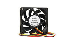 "Generic SF-7015-3P Computer PC Case Fan w/3-Pin Connector Black 2.75"" x 2.75"""
