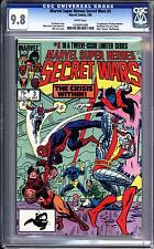MARVEL SUPER HEROES SECRET WARS #3 CGC 9.8 WHITE PAGES!  1ST VOLCANA & TITANIA