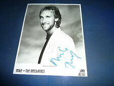 MIKE RUHTERFORD  signed Autogramm 20x25 cm In Person GENESIS