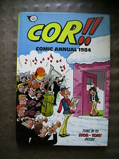 VINTAGE COR!! ANNUAL 1984  price flashed