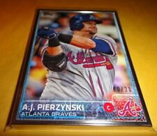 AJ PIERZYNSKI, BRAVES, 2015 TOPPS 2S, 507, ENCASED IN SILVER SP 10of20