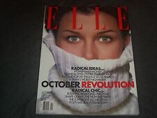 1993 OCTOBER ELLE MAGAZINE - BRIDGET MOYNAHAN FRONT FASHION COVER - O 7007