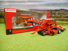 BRITAINS KVERNELAND U DRILL 3000 SEED DRILL COMBINATION 1/32 43145A1 BRAND NEW