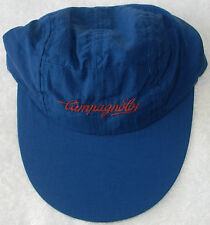 Campagnolo Volley Style Blue Cap Embroidered New !! LAST ONE !!