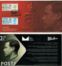EDWARD Vlll POSTAL MUSEUM BPMA OFFICIAL FDC 14/09/16 Post Go 250 LTD ED SOLD OUT