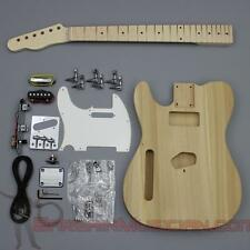Bargain Musician - GK-002L - LEFT Hand DIY Unfinished Project Luthier Guitar Kit