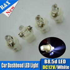 6x 12V B8.5D LED Car Dash Twist Lock Instrument Cluster Gauge Bulbs White DC12V