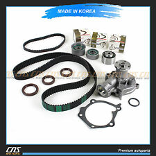 """HNBR"" Timing Belt Water Pump Kit Fits Hyundai Santa Fe Sonata Optima 2.4L G4JS"