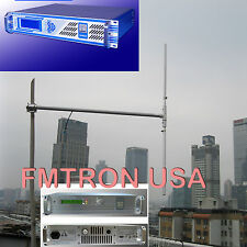 100w 150w 1/2 Half Wave FM Transmitter Dipole GP Antenna High gain outdoor