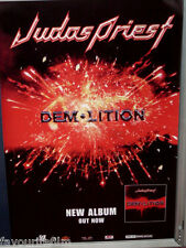 Music Poster: JUDAS PRIEST - Demolition - Album Release Promotional 31/7/2001