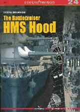 Kagero Publishing - Top Drawings 24 - The Battlecruiser HMS Hood      New   Book