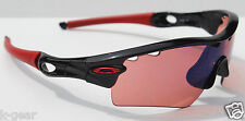 OAKLEY Radar Path ASIAN FIT Sunglasses Black/G30 Iridium Vented NEW 24-408J