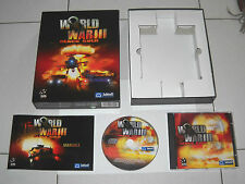 Gioco Pc Cd WORLD WAR III BLACK GOLD in BOX 2001 PERFETTO ITA