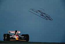 Johnny Herbert Hand Signed Team Lotus F1 12x8 Photo.